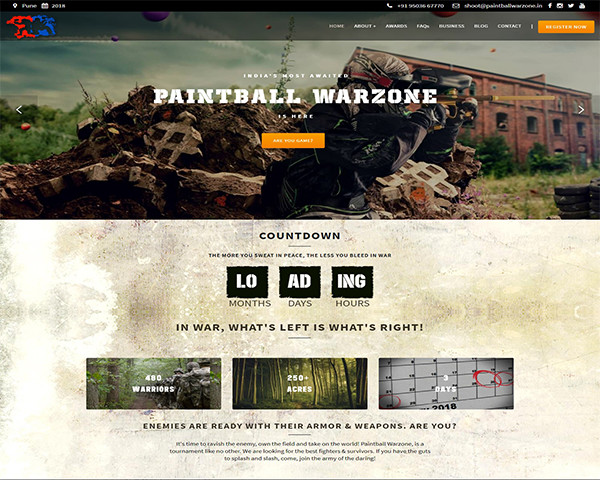 Paintball Warzone